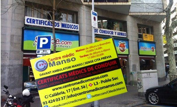 Centro Médico Manso - Barcelona